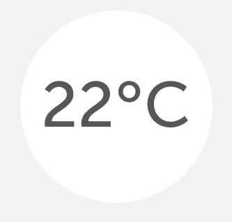 Temperatur der Kopfhaut